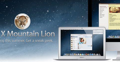 OS X Mountain Lion Yenilikleri