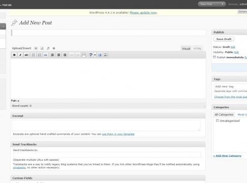 WordPress 3.4 Beta 1 Kullanıcılara Sunuldu
