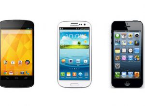 Nexus 4, Galaxy S3 ve iPhone 5 karşısında
